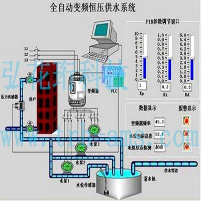 变频恒压供水系统,弘花珩科技恒压供水系统